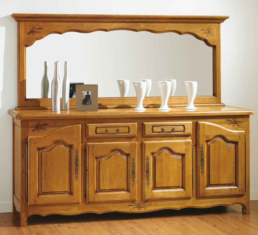 exemple buffet bas rustique. Black Bedroom Furniture Sets. Home Design Ideas