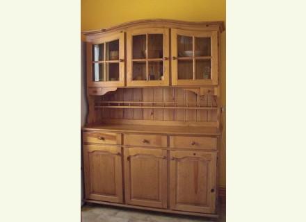 buffet de cuisine en pin. Black Bedroom Furniture Sets. Home Design Ideas