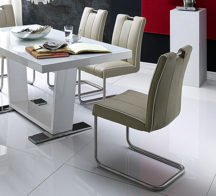 Chaise de salle a manger design torino b for Salle a manger 8 places