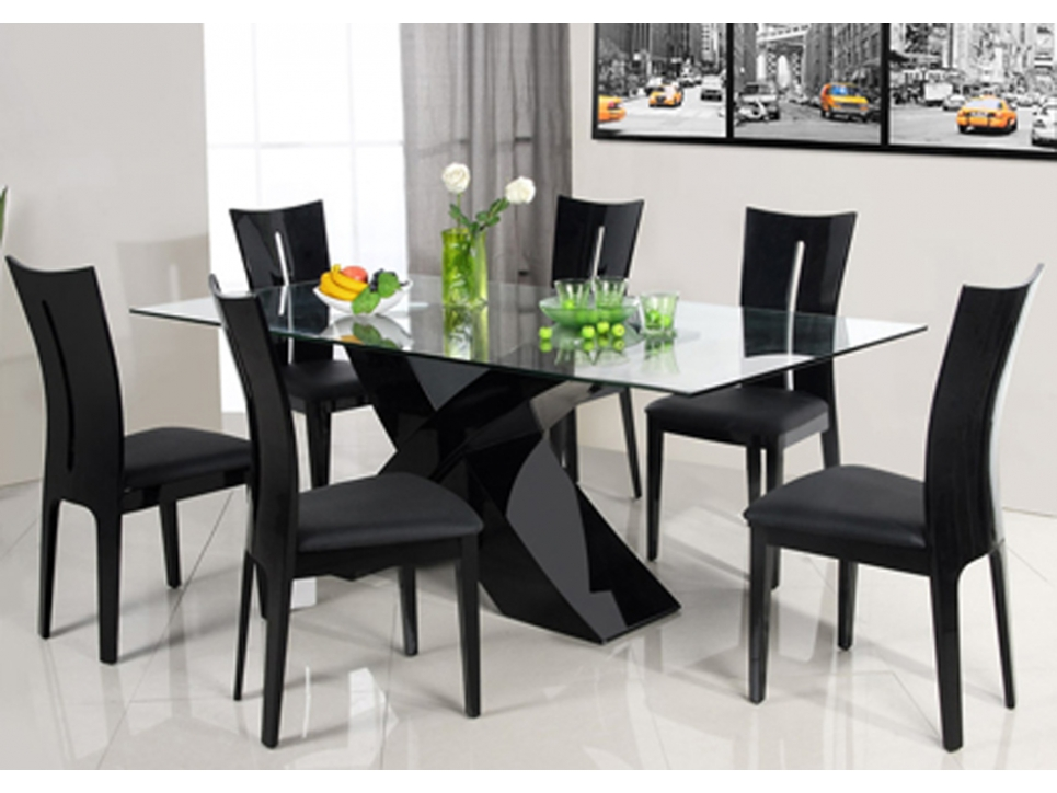 chaises salle manger vente unique. Black Bedroom Furniture Sets. Home Design Ideas