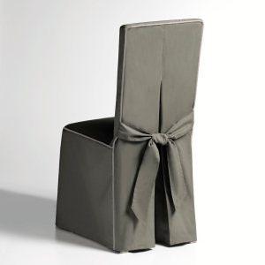 Housse de chaise tissu pas cher - Housse de chaise grise pas cher ...