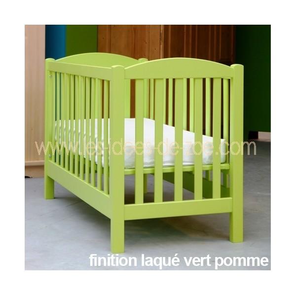 Lit bebe vert - Tour de lit blanc pas cher ...