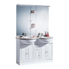 meuble salle de bain rimini chez castorama
