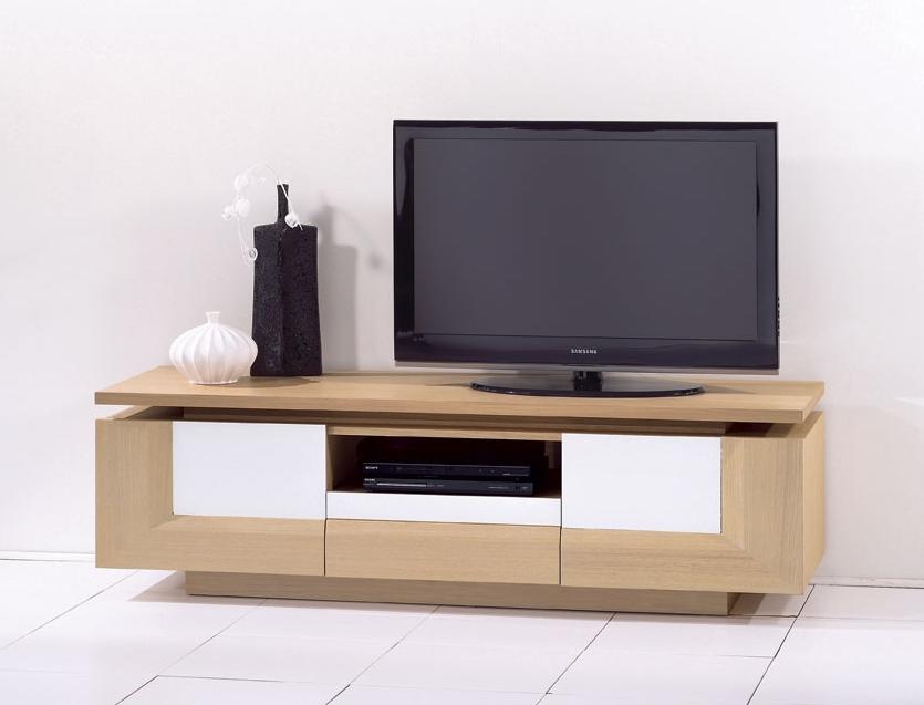 meuble bas sous tv. Black Bedroom Furniture Sets. Home Design Ideas