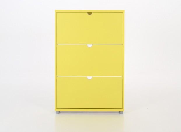 Meuble chaussure jaune -> Meuble Jaune