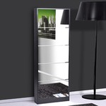meuble chaussures miroir pas cher. Black Bedroom Furniture Sets. Home Design Ideas