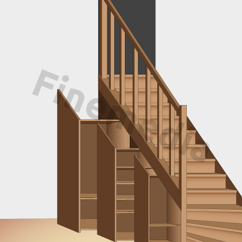 meuble sous escalier ikea maison design. Black Bedroom Furniture Sets. Home Design Ideas