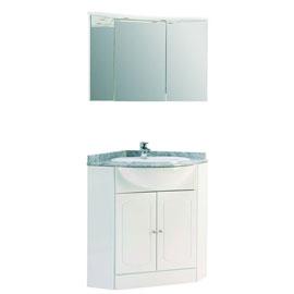 Id e meuble d 39 angle haut salle de bain - Meuble d angle salle de bain castorama ...
