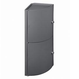 Meuble d 39 angle haut salle de bain for Meuble pour toilette castorama