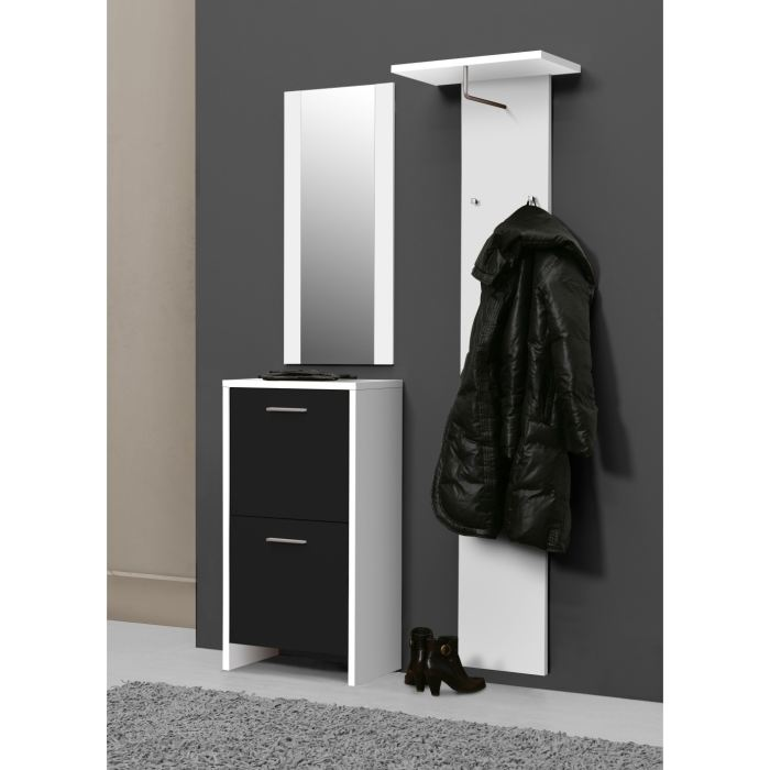 meuble d 39 entree vestiaire chaussures. Black Bedroom Furniture Sets. Home Design Ideas