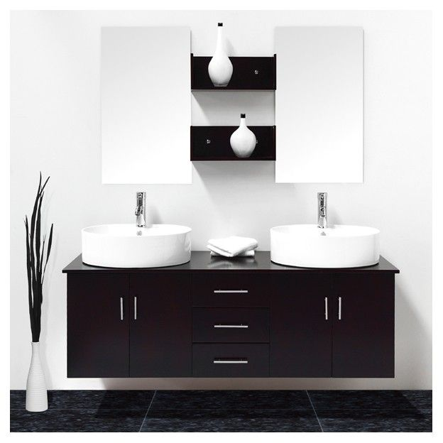 id e meuble salle de bain wenge ikea. Black Bedroom Furniture Sets. Home Design Ideas