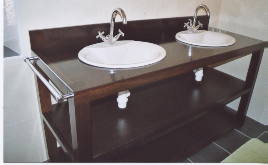 Visuel Meuble Salle De Bain Wenge Ikea. «