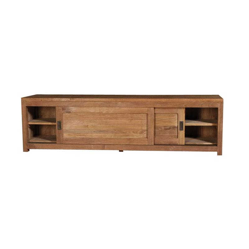 meuble tv bas porte coulissante. Black Bedroom Furniture Sets. Home Design Ideas
