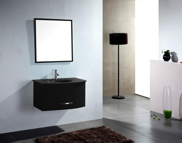 Awesome Vasque Salle De Bain Noir Contemporary  Awesome Interior