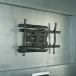 support mural tv orientable placo. Black Bedroom Furniture Sets. Home Design Ideas