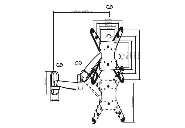 hauteur ideale pour tv murale support mural kimex support sur pied pour superb hauteur. Black Bedroom Furniture Sets. Home Design Ideas
