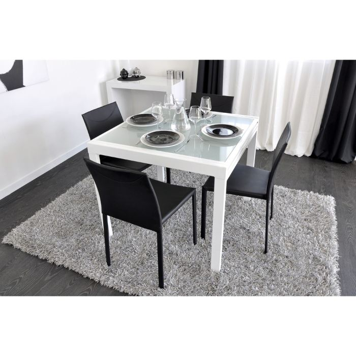 Table a manger extensible ikea for Table extensible 4 chaises