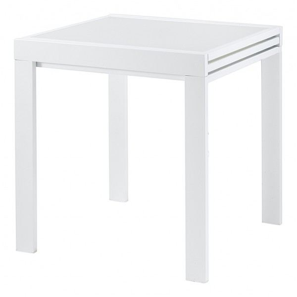 Table a manger haute extensible for Table a manger carre extensible
