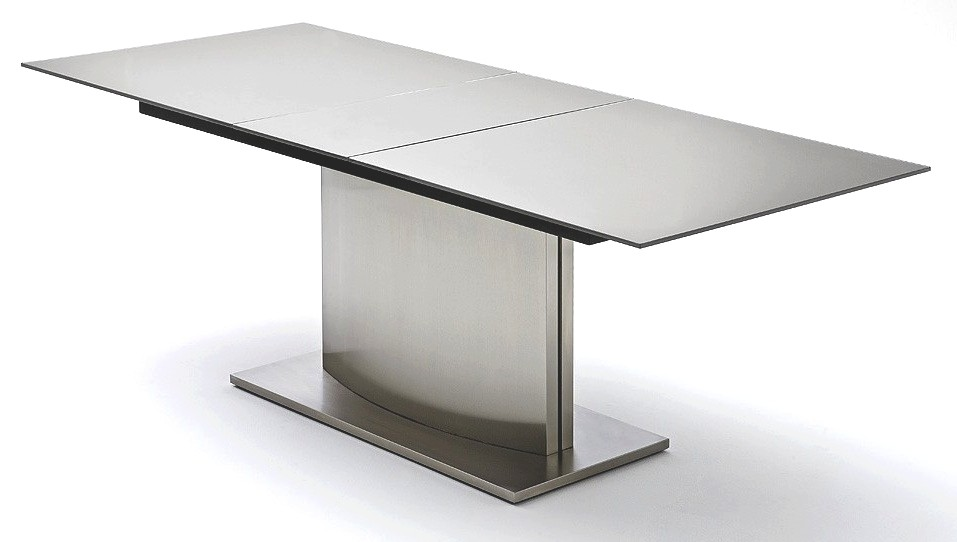 Table haute extensible cuisine for Ilot cuisine table extensible