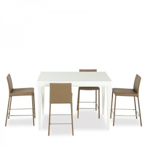 table a manger hauteur 90 cm. Black Bedroom Furniture Sets. Home Design Ideas