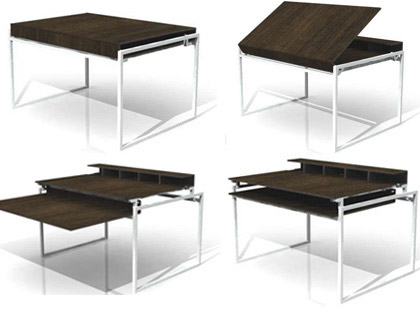 Table a manger petit espace for Table salle manger pour petit espace