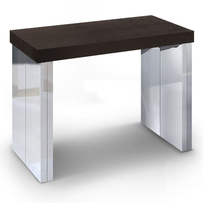 Table a manger wenge but for Table de salle a manger chez but