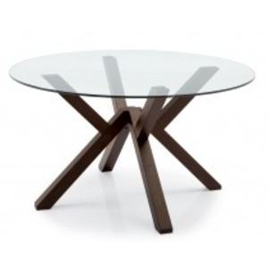 Table a manger wenge but for Table ronde verre salle a manger