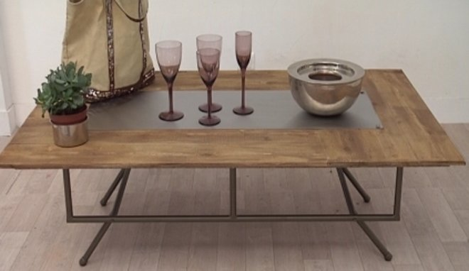 Table basse en palette a faire soi meme 20170928040848 - Table basse fait maison ...
