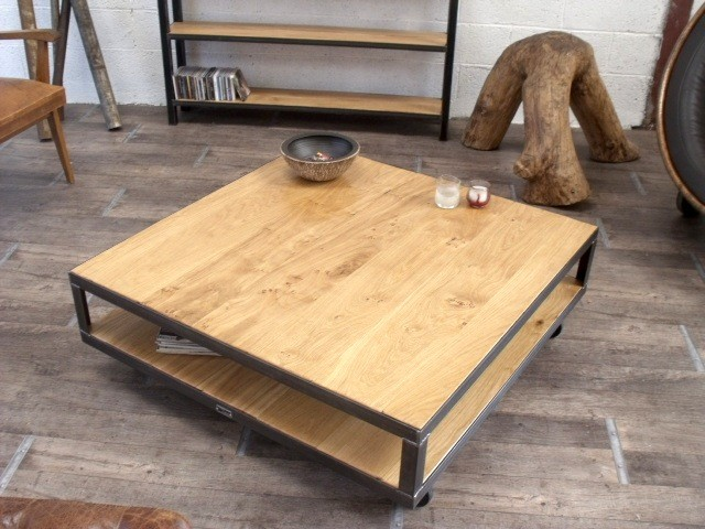 Construire sa table basse for Construire une table en bois