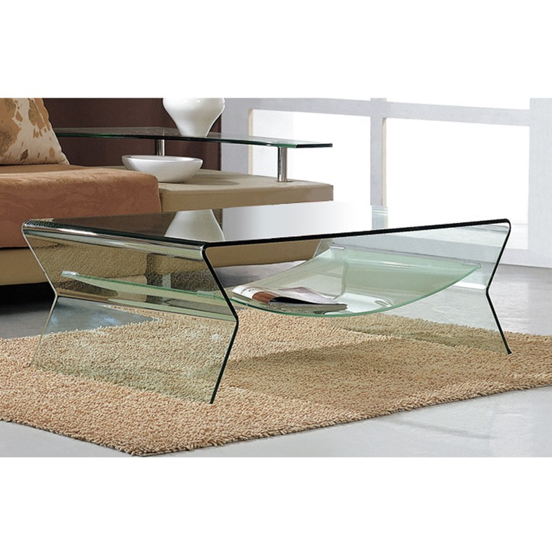 Photo table basse en verre - Table basse fait maison ...