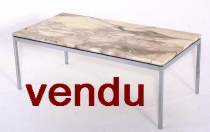table basse knoll marbre. Black Bedroom Furniture Sets. Home Design Ideas