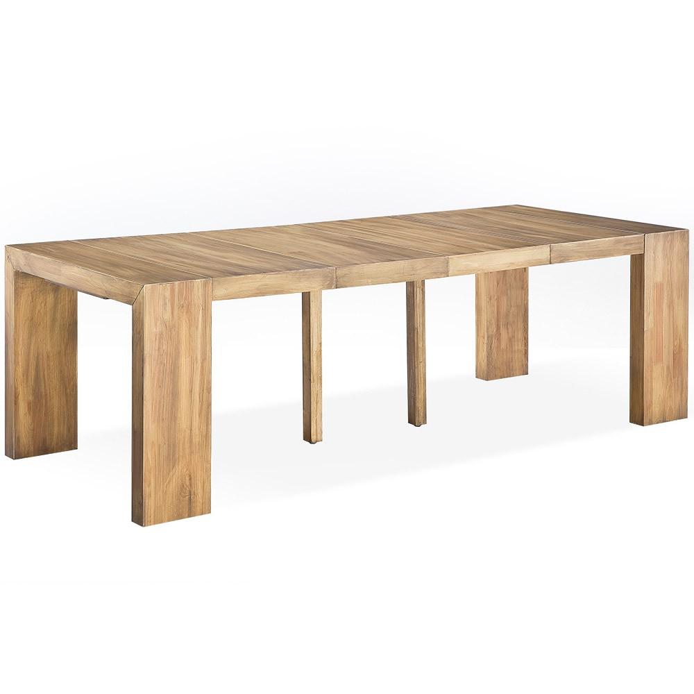 Table Console Bois Extensible