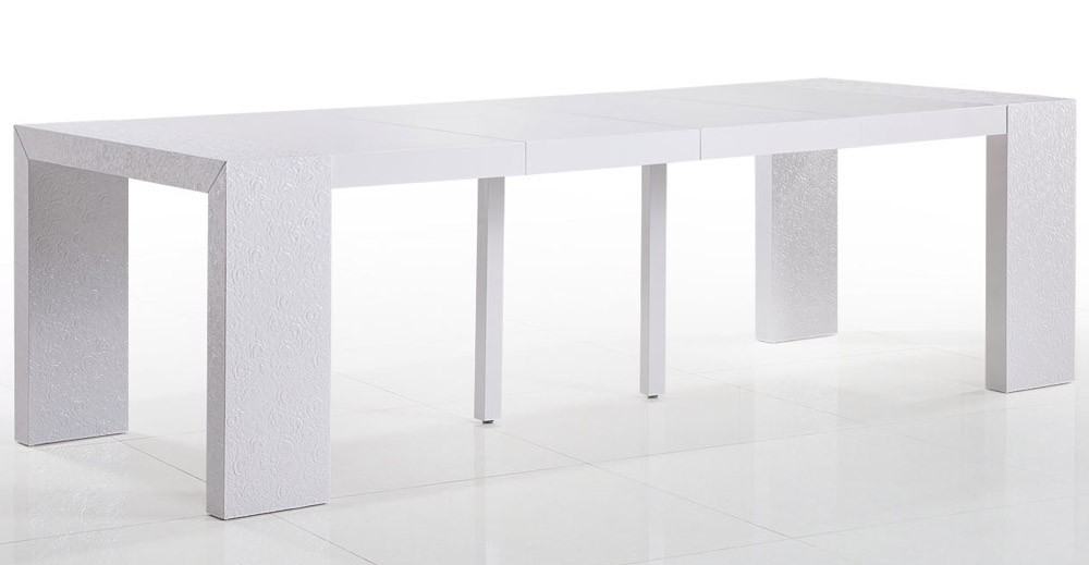 table console convertible. Black Bedroom Furniture Sets. Home Design Ideas