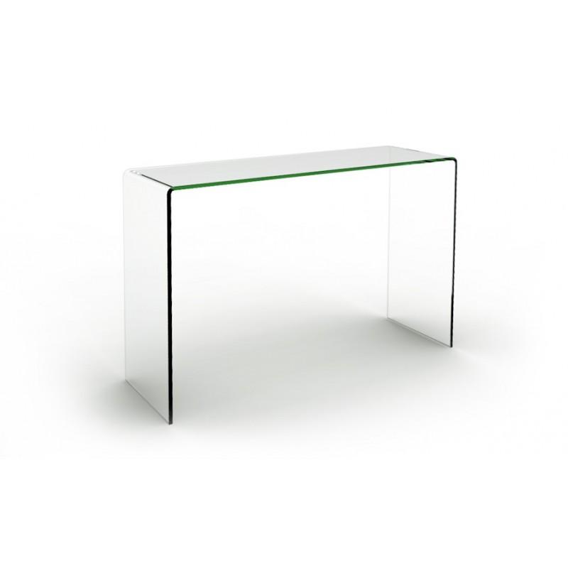 Table console en verre - Console extensible verre ...