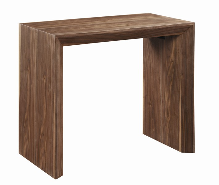 Table console extensible ikea for Ikea table bois