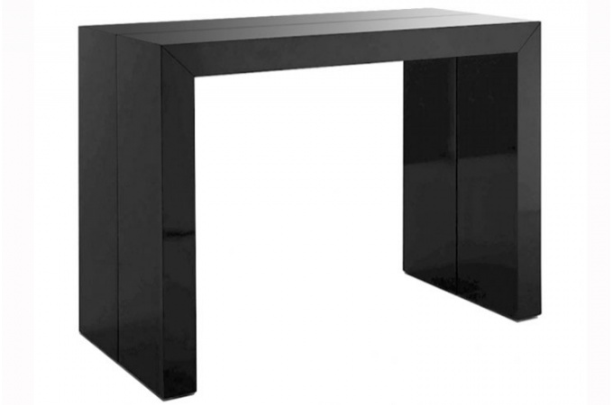 comparatif table console noir laque. Black Bedroom Furniture Sets. Home Design Ideas