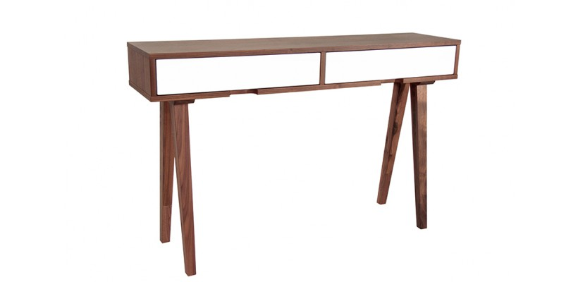 table console noyer