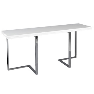 table console rabattable