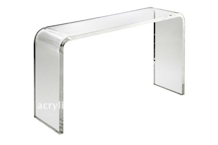Table console transparente - Console transparente design ...