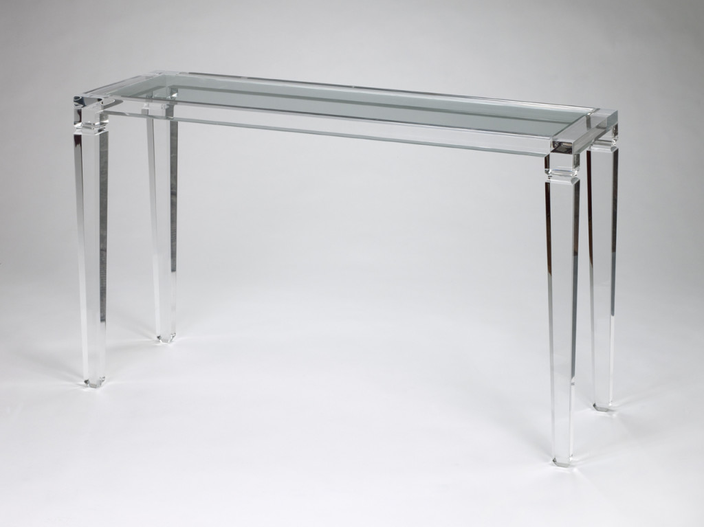 Table Console Transparente