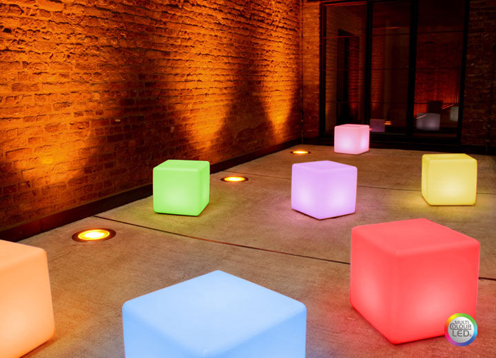 table d'appoint led