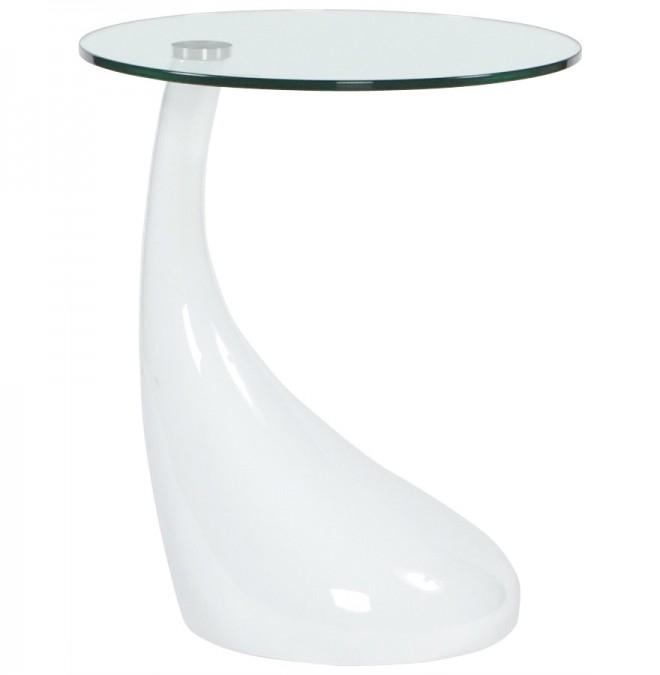 table d 39 appoint transparente. Black Bedroom Furniture Sets. Home Design Ideas