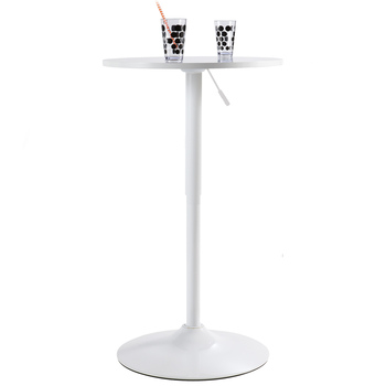Table de bar blanche pas cher for Petite table bar pas cher