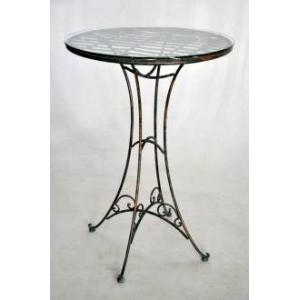 table de bar fer forge. Black Bedroom Furniture Sets. Home Design Ideas
