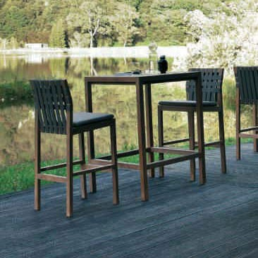 table de bar pour terrasse. Black Bedroom Furniture Sets. Home Design Ideas