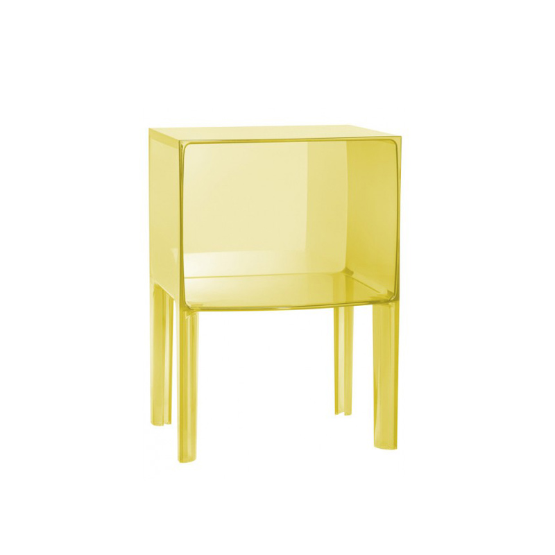 Table de chevet jaune for Createur meuble