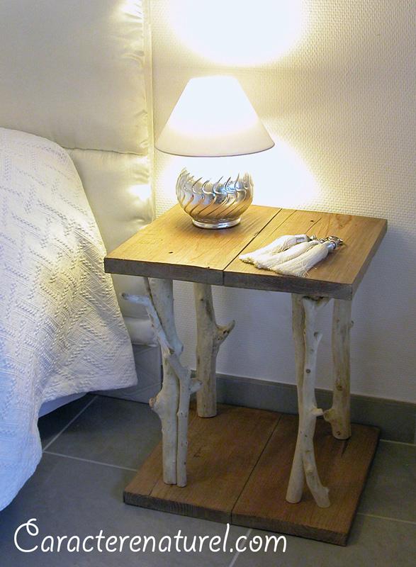 bricolage des tables de chevet originales en r cup pour 3frcs 6 sous. Black Bedroom Furniture Sets. Home Design Ideas