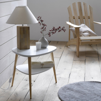 Table de chevet scandinave for Chevet style scandinave