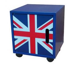 table de chevet union jack