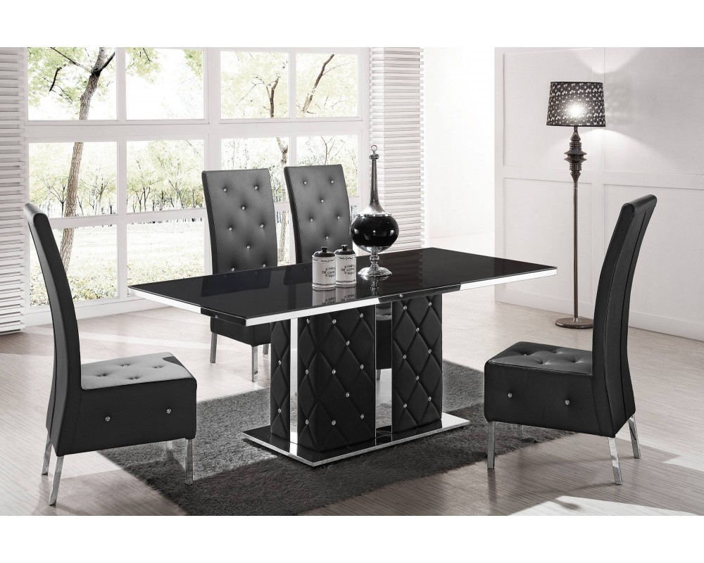 chaise table manger. Black Bedroom Furniture Sets. Home Design Ideas